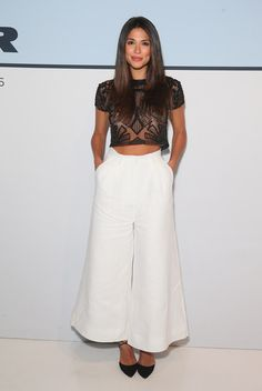 Pia Miller Crop Top - Fashion Lookbook - StyleBistro