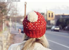 pom pom! for my head in the february chills.