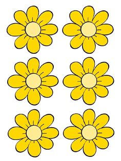 Spring Activities, Preschool Activities, Flower Pot People, Seed Bead Flowers, Bee Party, Borders For Paper, Flower Clipart, Bee Theme, Flower Template