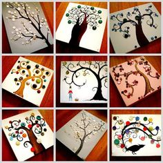 Button Trees...
