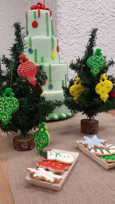 Christmas Cookies and Cake