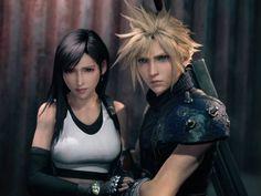 Final Fantasy 7 Tifa, Final Fantasy Artwork, Final Fantasy Characters, Final Fantasy Vii Remake, Cloud And Tifa, Cloud Strife, Tifa Ff7 Remake, Vincent Valentine, Mode Chanel