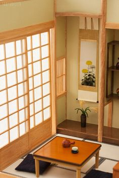 Miniature Japanese style room | Flickr - Photo Sharing!