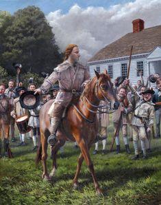 """Patrick Henry- Liberty or Death"" - American Revolutionary War"