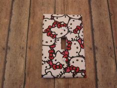 Hello Kitty Theme Switch Plate -Cute for Nursery, Children's Room, Etc. - Hello Kitty