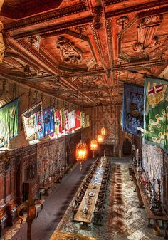Dining at Hearst by Trey Ratcliff Hearst Castle San Simion California