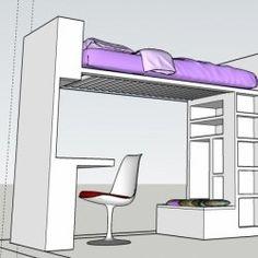 Letto soppalco  #cameretta #bambini#kids #house #interior #progetto#boy#girl# homedecor #furniture #design#bedroom