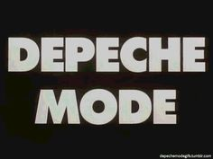 Depeche Mode Gifs