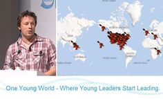 Jamie Oliver will talk at the One Young World summit about reversing the obesity epidemic, and becoming a healthier world!