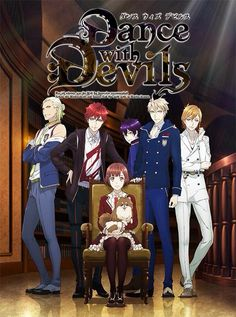Dance with Devils - A new guilty pleasure. Similar to UtaPri, but better than Diabolik Lovers. Omg the main girl has a personality.