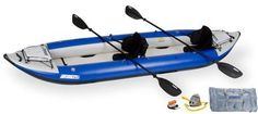 Sea Eagle 420X 14ft Kayak Pro Package Incl Seats Paddles and Pump 420XK-PRO