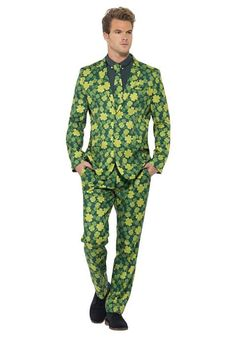 Extreme St Patrck's Day outfit!