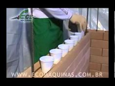 Construir  com tijolos ecológicos - 04 - Assentamento -