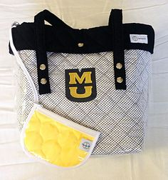 Everyone is loving the new #customized #Mizzou Totes by #TwoAlity!!! :) This is one of our favorites, embroidered by #EmbroiderMore #FallStyle #TailGates #MU #Tigers #Gifts