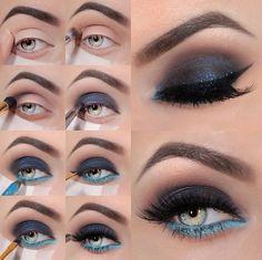 Double Shade Smokey Eye Makeup
