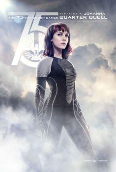 Never underestimate District 7's victor – Johanna Mason. #CelebrateYourVictors