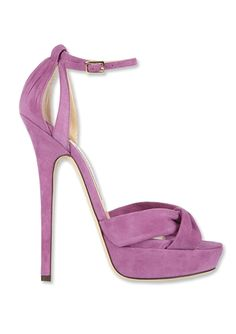 Shop Pantone's Color of the Year 2014: 14 Picks In Radiant Orchid - Jimmy Choo from #InStyle