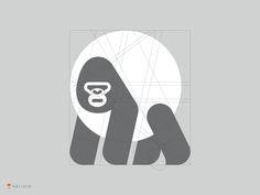 Gorilla Grid by George Bokhua #Design Popular #Dribbble #shots
