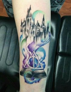 Harry Potter tattoos are generally intelligent, full of reverence, and enduring. These tattoos contains designs of just not the wizard but a. Magic Tattoo, Hp Tattoo, Tattoo Trend, Mehndi Tattoo, Piercing Tattoo, Get A Tattoo, Body Art Tattoos, Sleeve Tattoos, Cool Tattoos