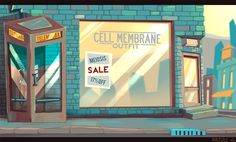 Amoeville backgrounds on Behance
