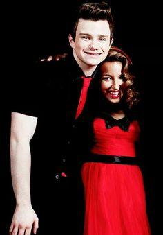 Chris Colfer & Vanessa Lengies from Glee