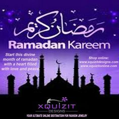 #Ramadan #Kareem! #XQUIZIT #DESIGNS #wishes all a #blessed #month!