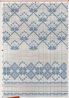 Gallery.ru / Фото #59 - Вишиванка 2 - widpuckau Cross Stitch Borders, Cross Stitch Flowers, Cross Stitch Designs, Cross Stitching, Cross Stitch Embroidery, Hand Embroidery, Weaving Patterns, Embroidery Patterns, Cross Stitch Patterns