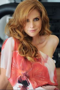 """The gorgeous Sarah Rafferty aka Donna from """"Suits"""" Romy Schneider, Sarah Rafferty, Gorgeous Redhead, Lady In Red, Redheads, Sexy, Beautiful People, Beautiful Ladies, Simply Beautiful"""