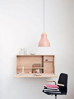 kleines Home Office einrichten