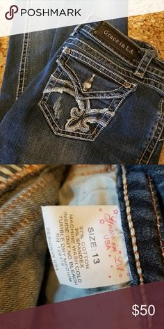 Grace LA Almost new Jeans, hardly worn Grace Jeans Boot Cut