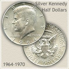Silver Kennedy half dollars represent the end of circulating Silver US coins. And many people don't remember or realize they are significantly more valuable.