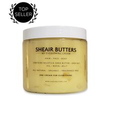 Shop Sheair Butters, makers of the popular 'My Everything Cream' and 'Liquid Body Butter,' made with pure Nilotica Shea Butter, Shea Nut Oil and Royal Jelly. Body Butter, Shea Butter, Red Palm Oil, Citrus Essential Oil, Sweet Almond Oil, My Everything, Active Ingredient, Face And Body, The Balm