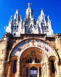 Esglèsia Sagrat Cor de Jesús #Tibidabo #Barcelona