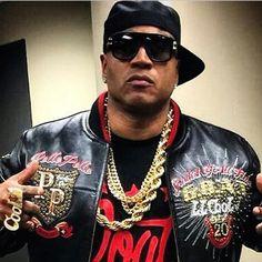Custom Pelle Pelle leather jacket for LL Cool J