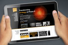 Idea Pharma website design @satcreative