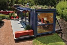 Image result for natural swimming pool using shipping container