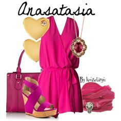 Designer Clothes, Shoes & Bags for Women Anastasia And Drizella, Sydney Evan, Disney Outfits, Disneybound, Cinderella, Descendants, Shoe Bag, Clothes For Women, Oasis