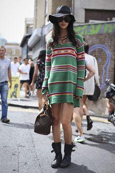 Amanda Hendrick by Street Style
