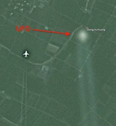 Ascension Earth ~ Fresh content posted throughout the day!  : UFO Following Two Jets Over China On Google Earth ...