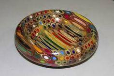 Colour pencil bowl