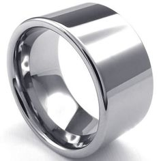 2015 High quality Mens Tungsten Ring, Classic 12mm Band, Silver Sizes 6,7, 8, 9, 10, 11, 12 ,13Width 12mm