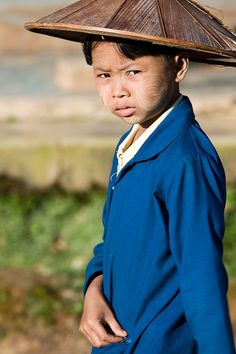 Boy in Myanmar... by Zalacain, via Flickr