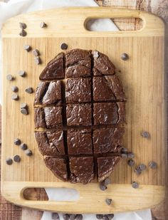 Grain-Free Kahlua Brownies #justeatrealfood #forageddish