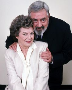 Barbara Hale, Raymond Burr, Della Street & Perry Mason in Perry Mason Returns.. Love them.