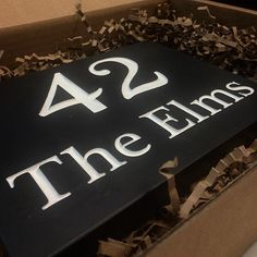 Need a new house sign? Our Welsh slate signs will look great through even the worst Welsh weather!! 🏡🌧
