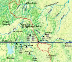Rendezvous Sites Rocky Mountain Man Fur Trade Pictures GPS Locations Facts Maps History
