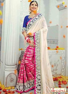 Indian Ethnic Saree Pakistani Bollywood DESIGNER Sari Dress Wedding Party Wear for sale online Indian Bridal Sarees, Indian Designer Sarees, Latest Designer Sarees, Bridal Lehenga, Saree Wedding, Lehenga Choli, Anarkali, Dress Wedding, Wedding Saree Collection