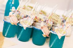 mason jar drinks for a peter rabbit first birthday party