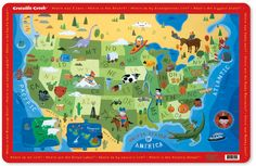 Ilrated Map Of The Us Ilrated Mapstourism