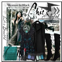 """Woman In Black"" by fashiontake-out on Polyvore"